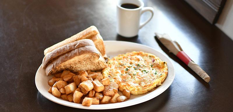 Le Portage - omelette western